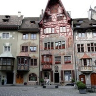 Stein am Rhein's painted houses