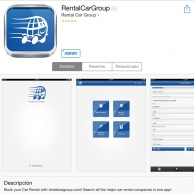 The new Rentalcargroup App, there is no reason not to rent with us.