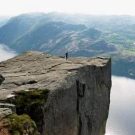 Noruega en su estado más puro, el fiordo de Lyse