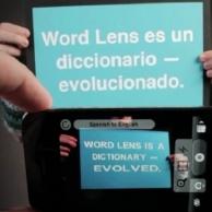 Una App indispensable para viajar, Word Lens ahora es gratuita por tiempo limitado