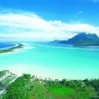 Un punto en el Océano Pacífico, Bora Bora, la isla más sorprendente del planeta...
