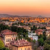 Bergamo, a charming corner in Italy