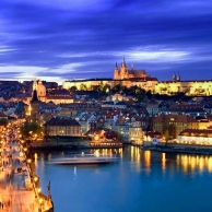 Prague, the capital of the Kingdom of Bohemia