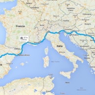 Road Trip by the Mediterranean coast to explore Europe