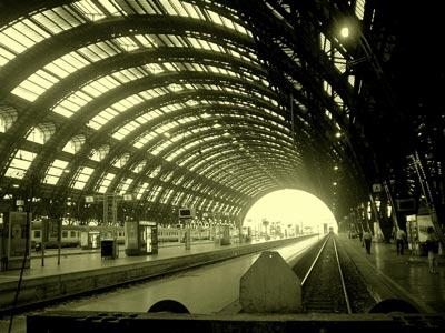 Milaan Trein Station Autoverhuur