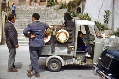Sicílie Catania Nádraží Autopůjčovna