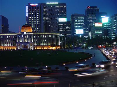 Seoul Gimpo Flughafen Automiete